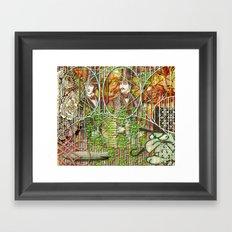 Crimson Petal's Lying Decay (1) Framed Art Print