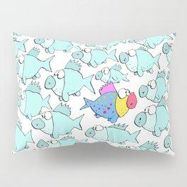 So Many Fish Pillow Sham
