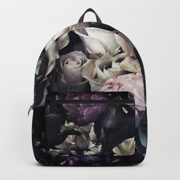 Roses and peonies vintage style Backpack