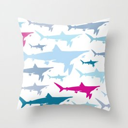 Shark Tank Throw Pillow