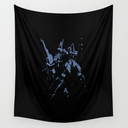Blue GDM Wall Tapestry