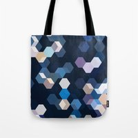 honeycomb Tote Bags featuring HONEYCOMB by ED design for fun