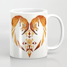 foxes heart  Coffee Mug