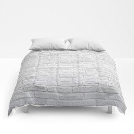 White Brick Comforters