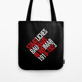 Staatliches Bauhaus Tote Bag