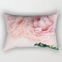 Blush Peonies Rectangular Pillow