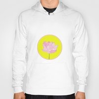 lotus flower Hoodies featuring Lotus by Cyrille Savelieff