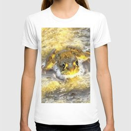 Frog In Deep Water T-shirt
