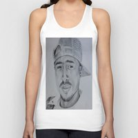 tupac Tank Tops featuring Tupac  by Brooke Shane