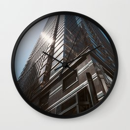 Architecture Corporate Building Wall Clock