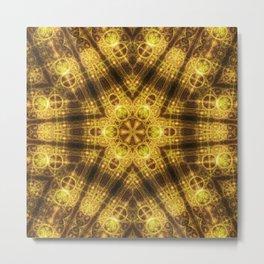 Harmony Seal Mandala Metal Print