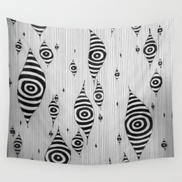 Mystic Yam Eyes Wall Tapestry