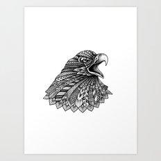Ornate Eagle Art Print