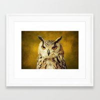 elmo Framed Art Prints featuring Elmo IV by Astrid Ewing