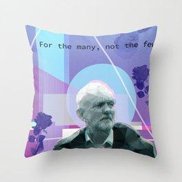 Vapo(u)rwave Corbyn Throw Pillow