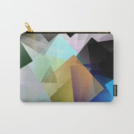 Holographic mountains in Silicon Valley. Carry-All Pouch