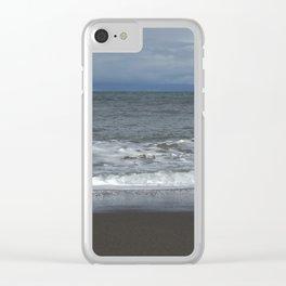 Peaceful sea Clear iPhone Case