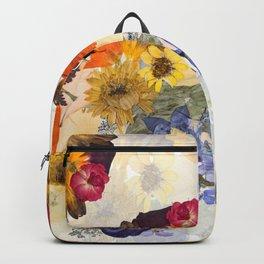 Floral Rainbows Backpack