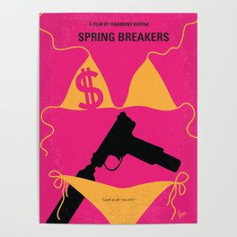 No218 My SPRING BREAKERS mmp Poster