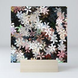 Country Breeze Flower Garden Mini Art Print