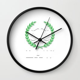 Future Lawyer Students Attorney Gift I Survived Law School Wall Clock