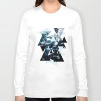 posters Long Sleeve T-shirts featuring c - Sea Waves Posters by emme