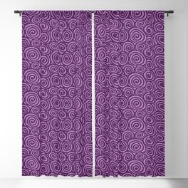 Spiral planet Blackout Curtain