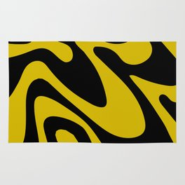 Swirly Whirly: Abstract Pop Art Painting by Bruce Gray Rug