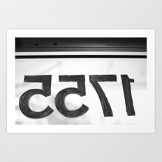 Address Art Print