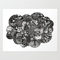 Thought Bubble #2 - BBC on LSD Art Print