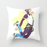 dmmd Throw Pillows featuring Noiz by Meex Art