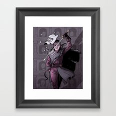No One Framed Art Print