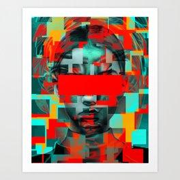 Digital G Art Print