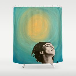 Seeing the Light in an Increasingly Dim World Shower Curtain