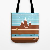 canada Tote Bags featuring Canada. by Grant Pearce