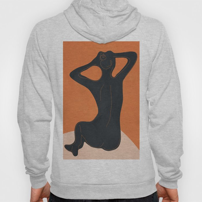 Abstract Nude I Hoody