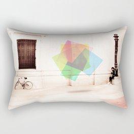 A little stop... Rectangular Pillow