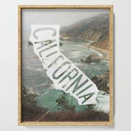 California Serving Tray