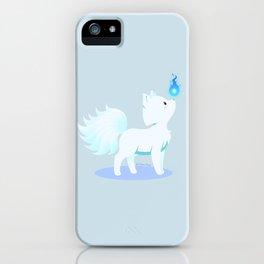 Kawaii fantasy animals - Kyuubi no Kitsune iPhone Case