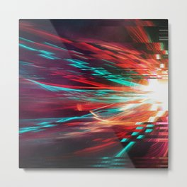 The Motion Metal Print