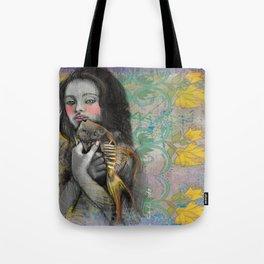 One wish Goldfish Tote Bag