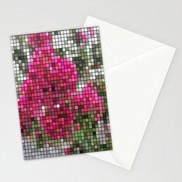 Crape Myrtle Mosaic Stationery Cards