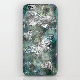 Night Moths iPhone Skin