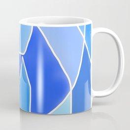 Abstract Blues Coffee Mug