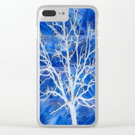 and the seed became tree Clear iPhone Case