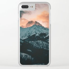 Tatra Mountains, Poland Clear iPhone Case