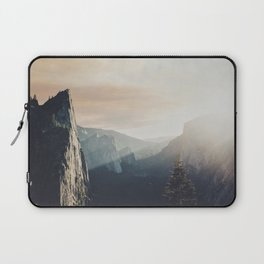 Up in the cliffs, down on my mind  Laptop Sleeve