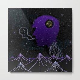Strange Creatures Metal Print