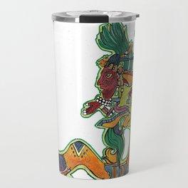 Maya Vision Serpent I Travel Mug