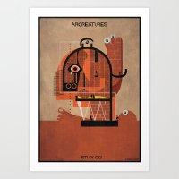 012_ARCREATURES-01 Art Print